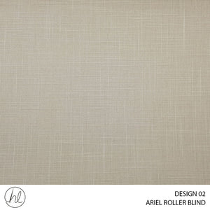 ARIEL ROLLER BLIND (DESIGN 02) (ALMOND)
