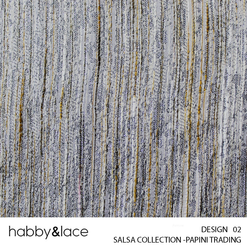 SALSA COLLECTION (DESIGN 02) (280CM) (PER M) (STONE)