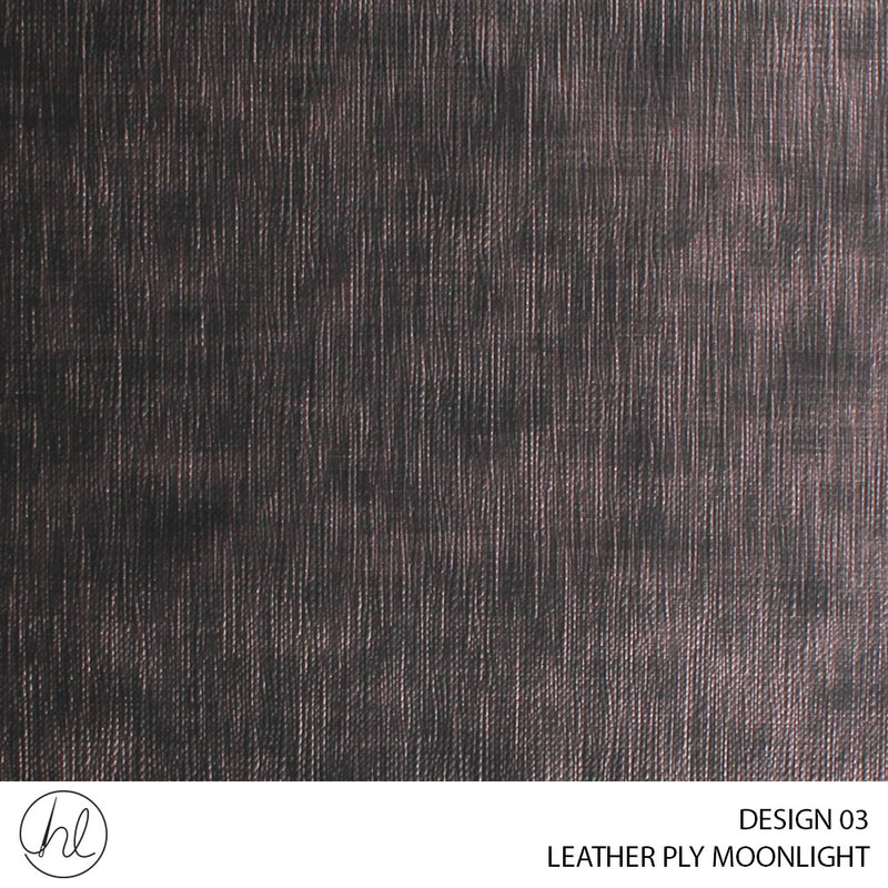 LEATHER MOONLIGHT (DESIGN 03) (140CM) (PER M)