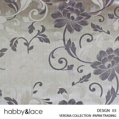 VERONA COLLECTION (DESIGN 03) (280CM) (PER M) (BRONZE)
