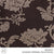 JACQUARD CURTAINING (COLLECTION SIX) (DESIGN 04) (280CM) (PER M) (DARK BROWN)