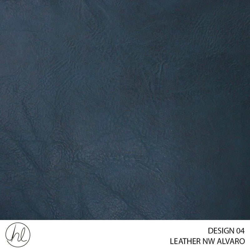 LEATHER ALVARO (DESIGN 04) (140CM) (PER M) (BLUE)