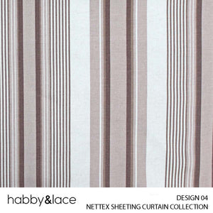 NETTEX SHEETING (CURTAIN COLLECTION) (DESIGN 04) (140CM) (PER M)