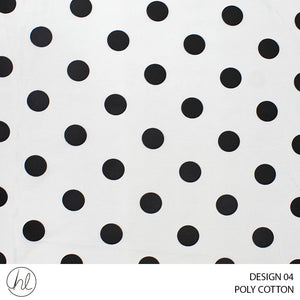 POLY-COTTON (DESIGN 04) (240CM) (PER M)