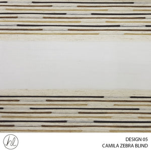 CAMILA ZEBRA BLIND (DESIGN 05) (FERN)