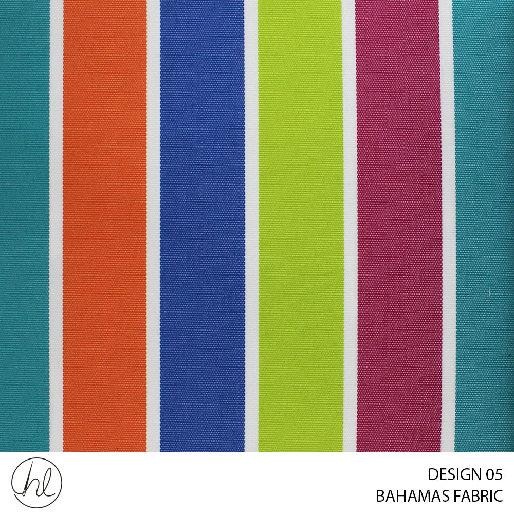 BAHAMAS CANVAS (ONLY SUITABLE FOR OUTDOOR) (DESIGN 05) (150CM) (PER M)