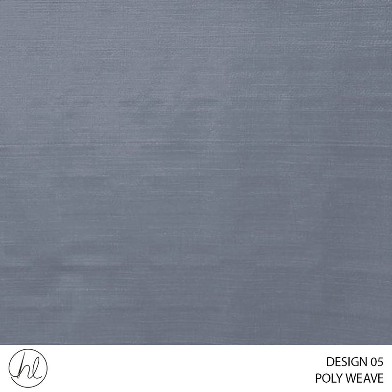 POLY WEAVE OUTDOOR FABRIC (DESIGN 05) (180CM) (PER M)