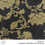 JACQUARD CURTAINING (COLLECTION SIX) (DESIGN 09) (280CM) (PER M) (BLACK/GOLD)