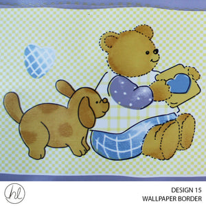 WALLPAPER BORDER (DESIGN 15) (10.6CMX10M) (PER ROLL)