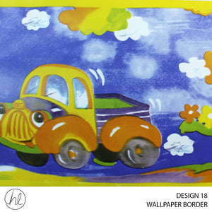 WALLPAPER BORDER (DESIGN 18) (10.6CMX10M) (PER ROLL)