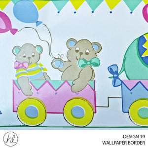 WALLPAPER BORDER (DESIGN 19) (10.6CMX10M) (PER ROLL)