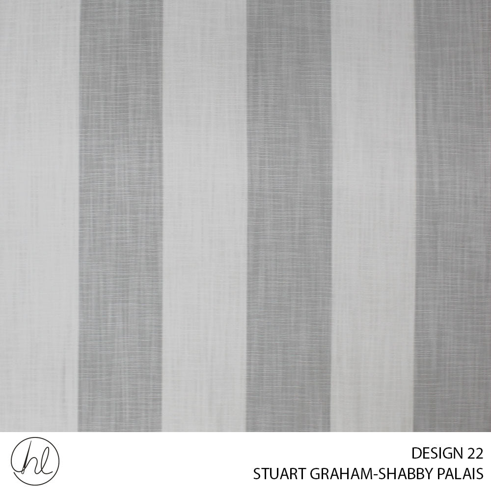 STUART GRAHAM (DESIGN 22) (140CM) (PER M) (DOVE)