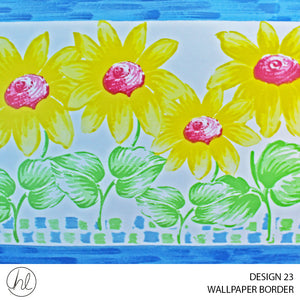 WALLPAPER BORDER (DESIGN 23) (10.6CMX10M) (PER ROLL)