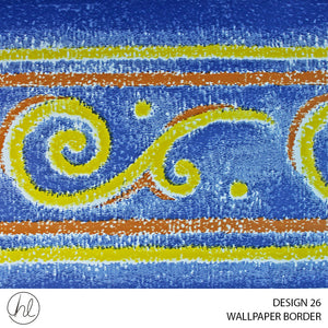 WALLPAPER BORDER (DESIGN 26) (10.6CMX10M) (PER ROLL)