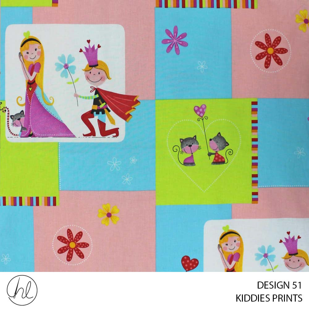 KIDDIES PRINTS (DESIGN 51) (150CM) (PER M)