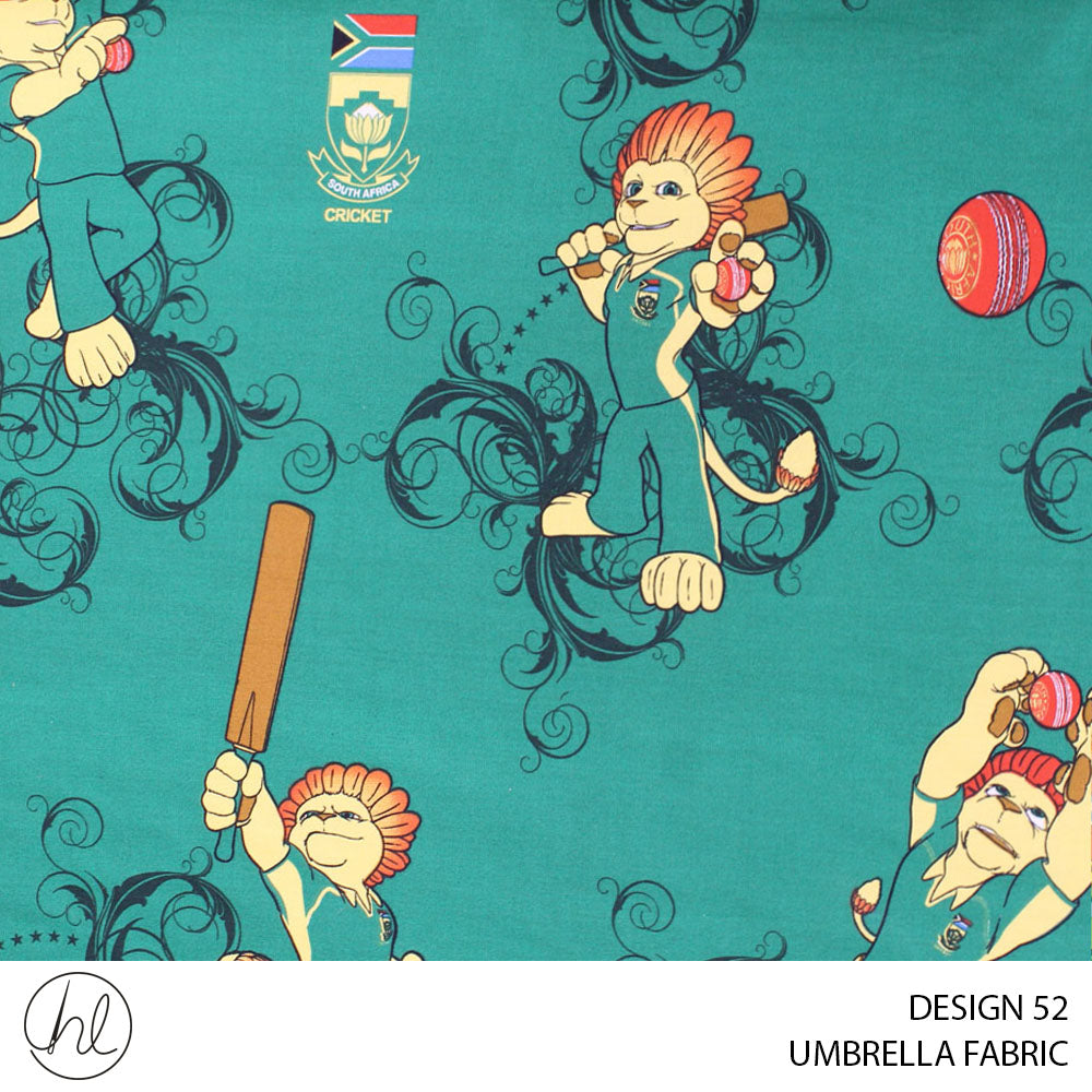 UMBRELLA FABRIC  (DESIGN 52) (235CM) (PER M)