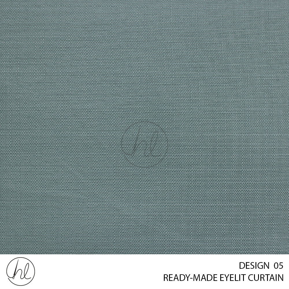 EYELIT READY-MADE CURTAIN (230X223) (DUCK EGG) (DESIGN 05)