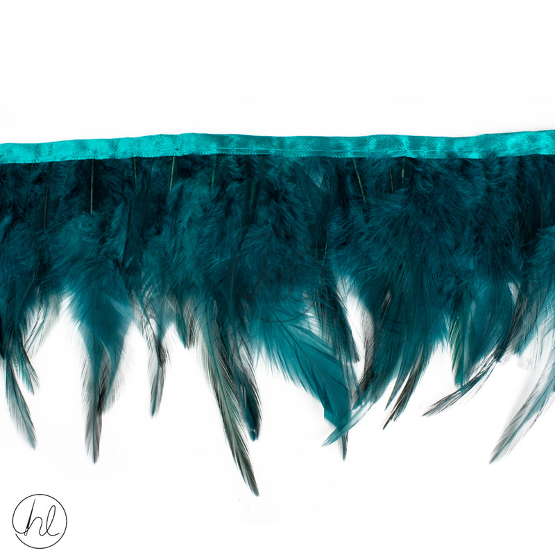 FEATHERS ASSORTED TEAL