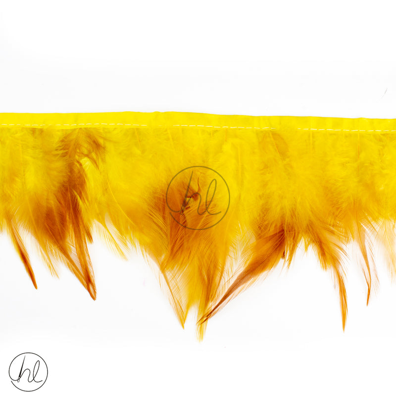 FEATHERS ASSORTED YELLOW