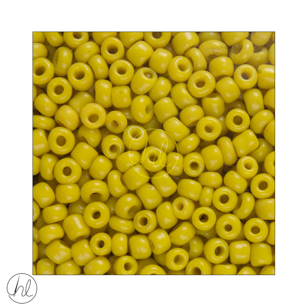 GLASS BEAD BULK MUSTARD (3MM)