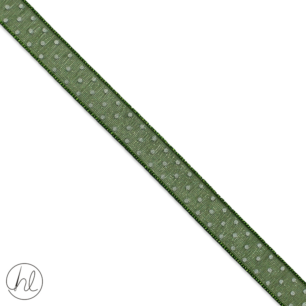10MM ORGANZA RIBBON (COL-76) -024-420 (P/METRE)