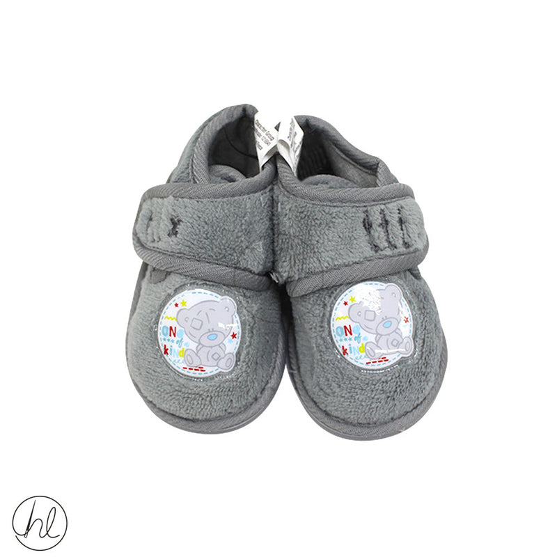 TINY TATTY TEDDY VELCRO SLIPPERS