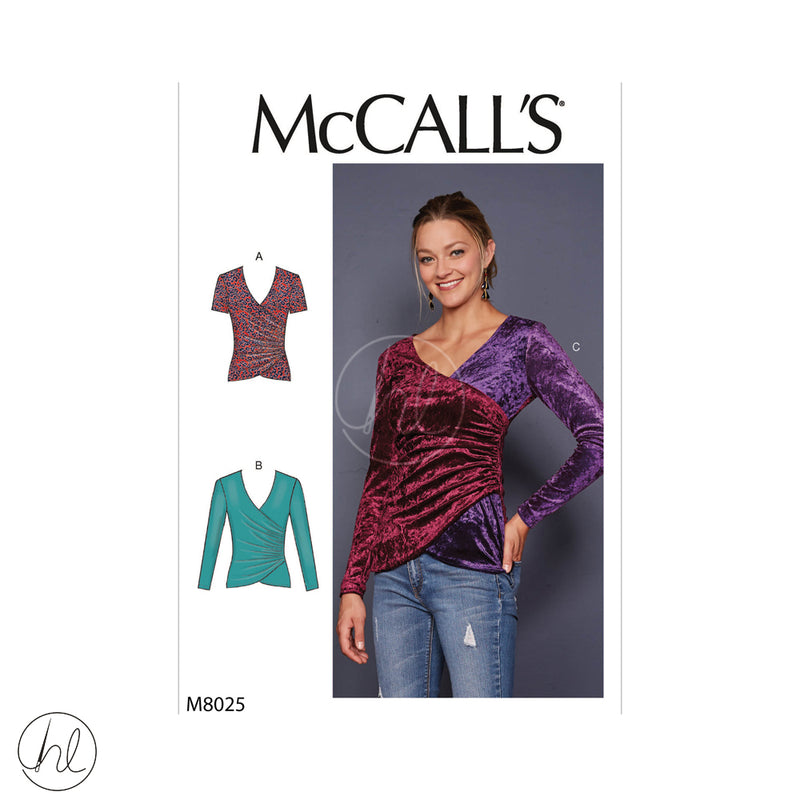 MCCALLS PATTERNS 8025