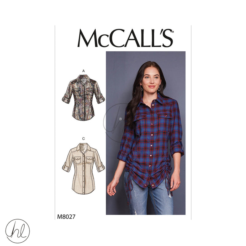 MCCALLS PATTERNS 8027