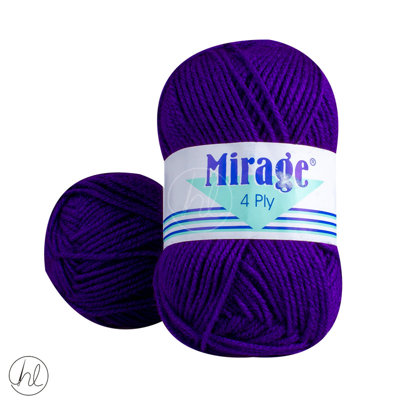 MIRAGE 4PLY 25G PURPLE