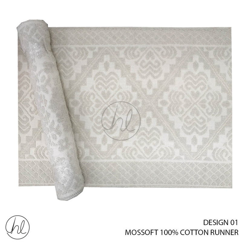 MOSSOFT 100% COTTON MAT (140X200) (DESIGN 01)