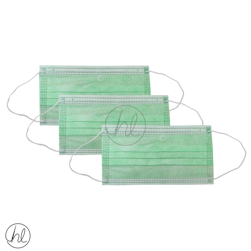 10 PIECE DISPOSABLE FACE MASK
