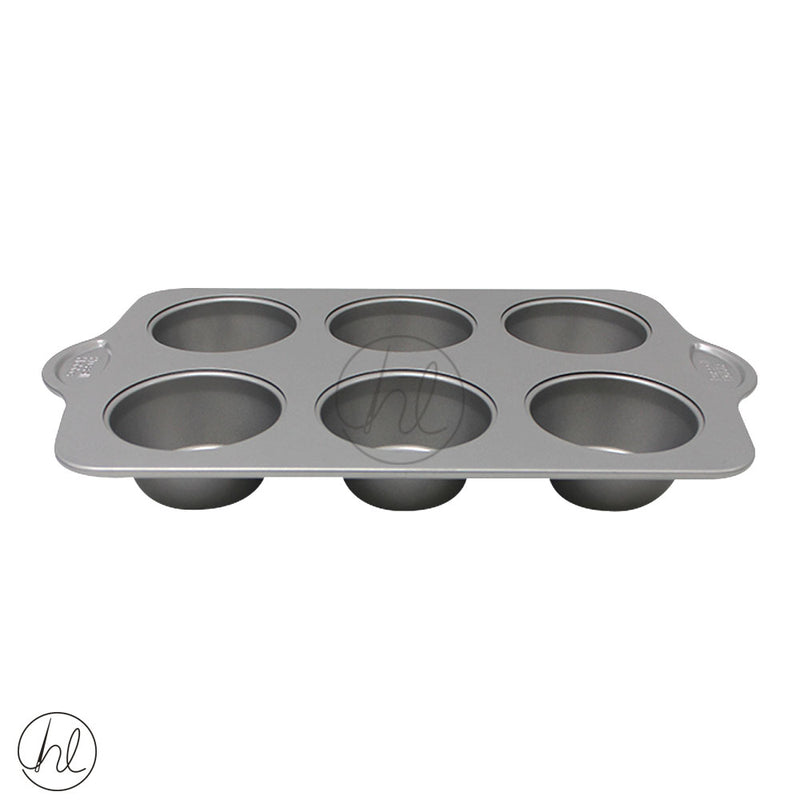 6 CUP NON-STICK MUFFIN PAN (RUSSELL HOBBS)