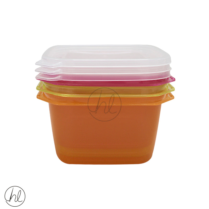 1250ML 3 PIECE SQUARE FOOD SAVER
