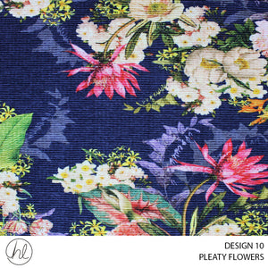 PLEATY FLOWERS (DESIGN 10) (150CM) (PER M)