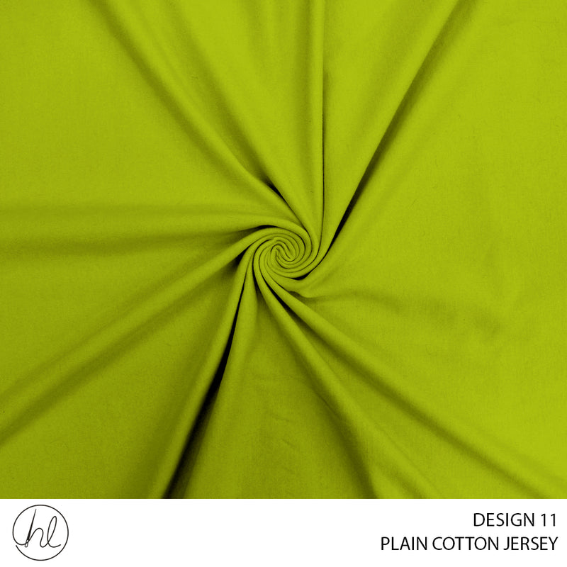 100% PLAIN COTTON JERSEY (DESIGN 11) (150CM) (PER M)51