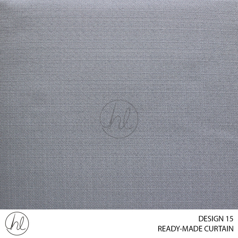 READY-MADE CURTAIN (230X218) (LIGHT DUCK EGG) (DESIGN 15)