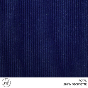 SHINY GEORGETTE (ROYAL) (150CM) (PER M)