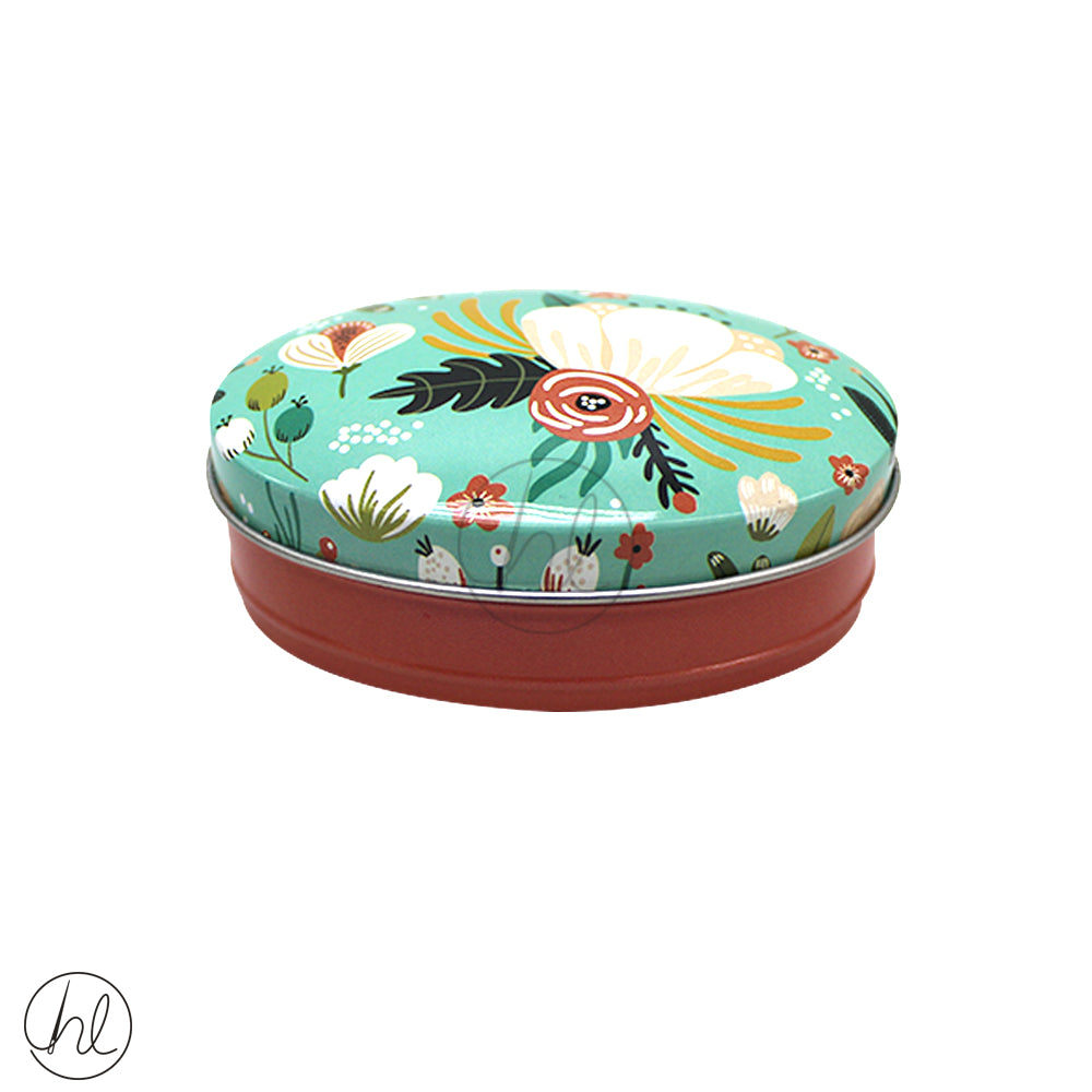 SMALL OVAL TIN (ABY-3336)