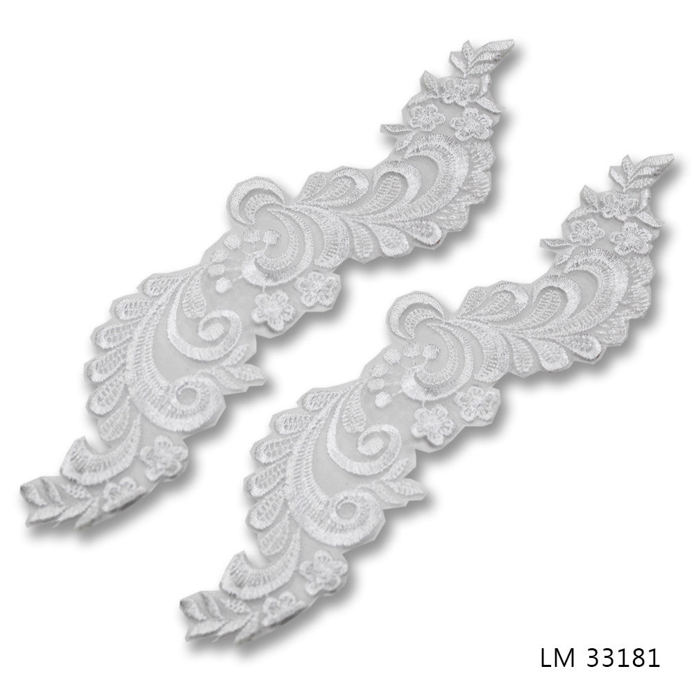 UNBEADED BRIDAL MOTIFS - LM 33181