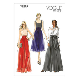 VOGUE PATTERNS (V8955)