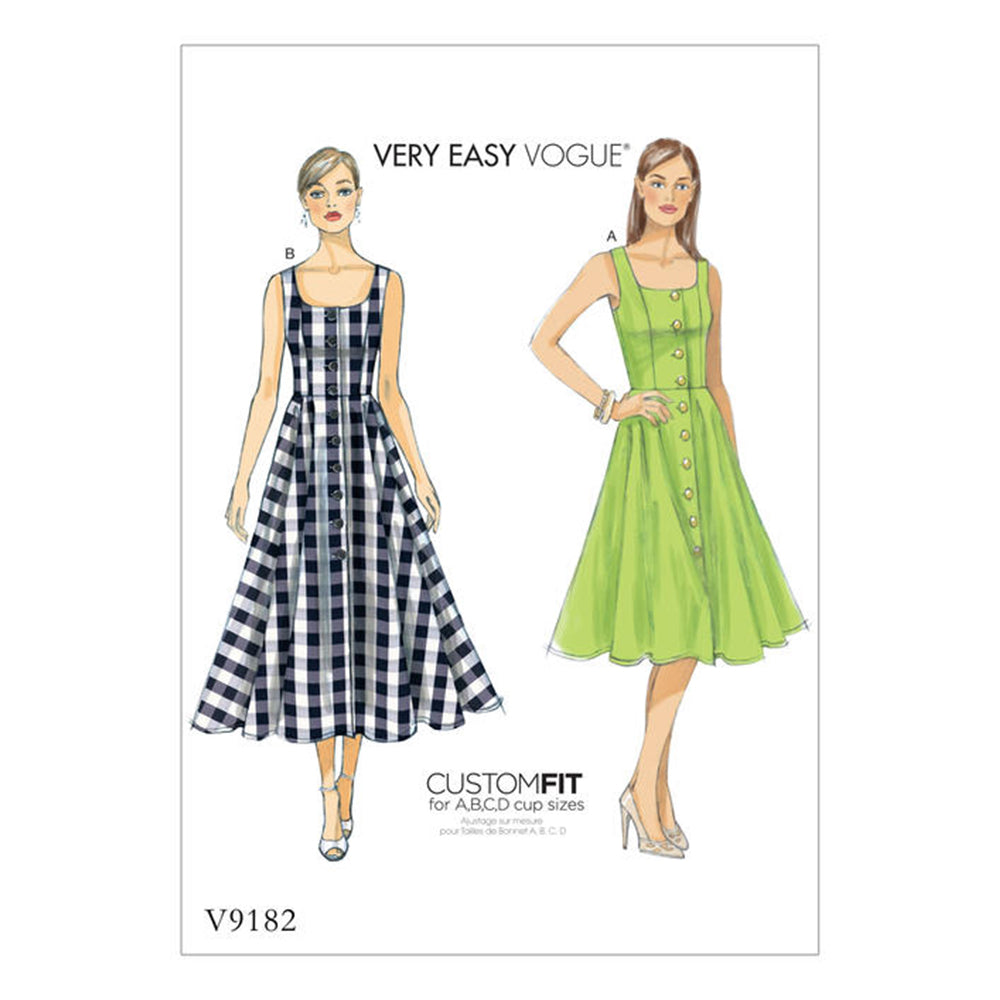 VOGUE PATTERNS (V9182)