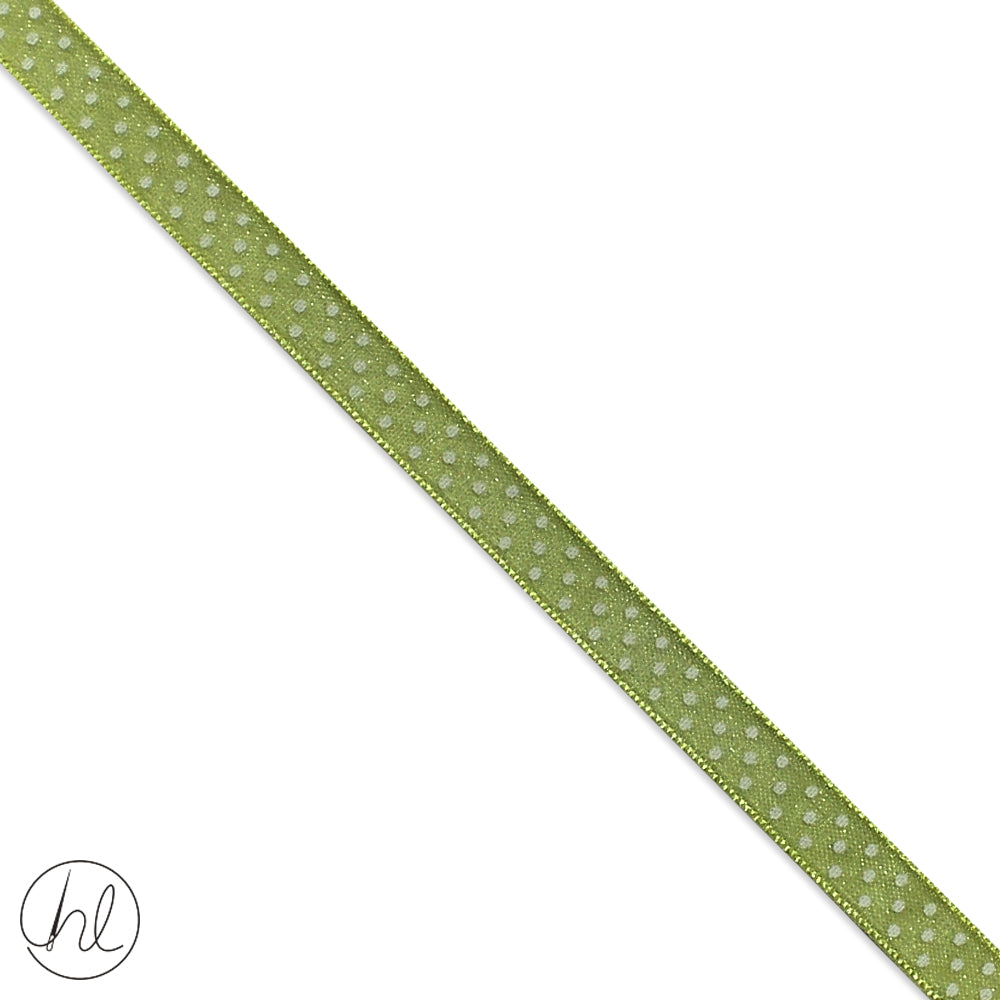 6MM ORGANZA RIBBON (COL-15) -024-419 (P/METRE)