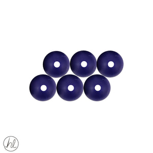 ASSORTED SILICONE BEADS (6P/PACK)