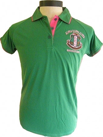Alpha Kappa Alpha Dry Fit Polo