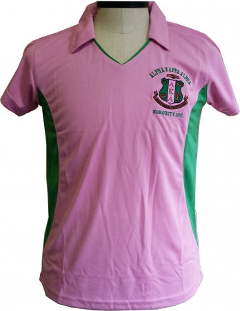 Alpha Kappa Alpha V-Neck Dry Fit Polo