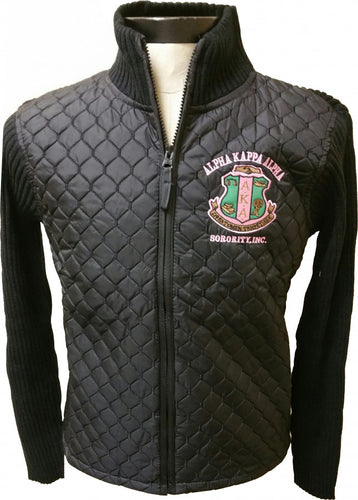 Alpha Kappa Alpha Sweater Jacket