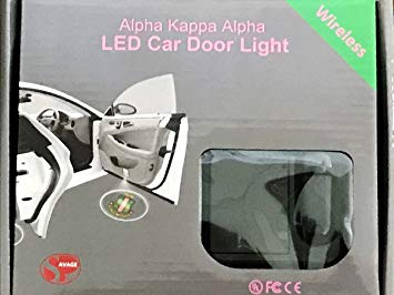 Alpha Kappa Alpha LED Car Door Light