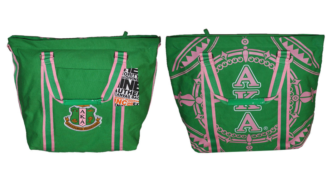 Alpha Kappa Alpha Canvas Bag