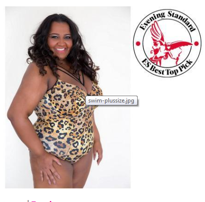 Evening Standard contributor Stephanie Yeboah names Leopard swimsuit 'top pick'!