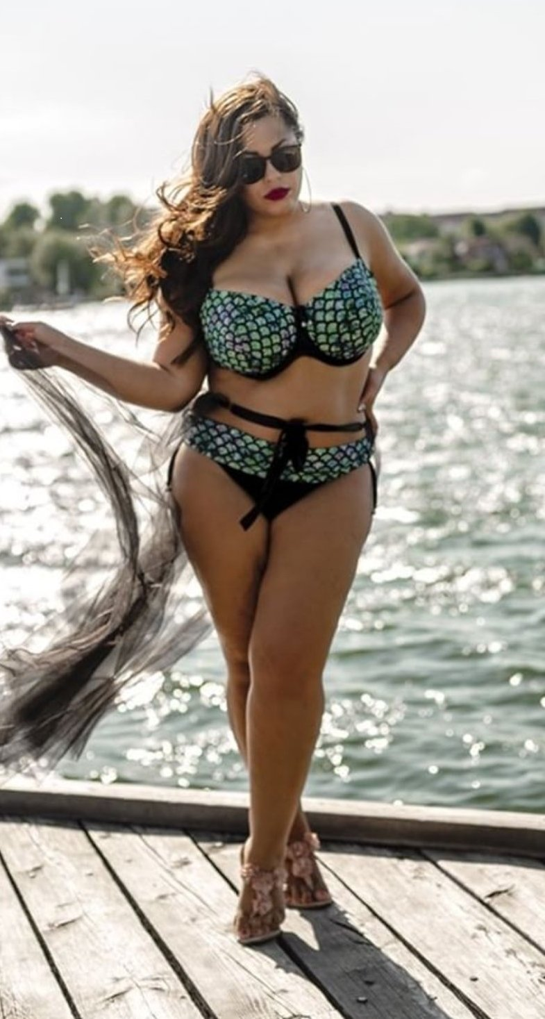 Mermaid Blue Green plus size bikini, tankini brief, panties, bottoms
